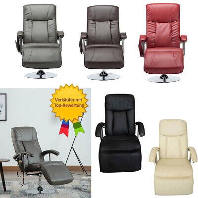 *Massagesessel Sessel Massage Relaxsessel Fernsehsessel Kunstleder TV-Sessel NEU