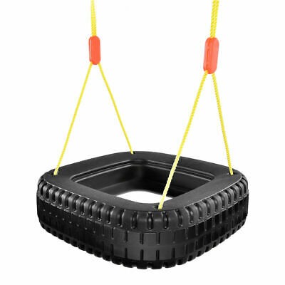 Classic Tire Swing 2 Kids Children Outdoor Play Backyard SwingSet Christmas Gift - Christmas Play Kids