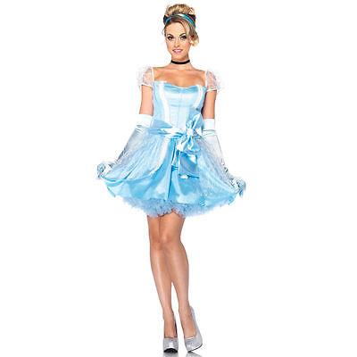 Disney Prinzessin Glas Hausschuh Cinderella Erwachsene Kostüm, Groß, Kleid