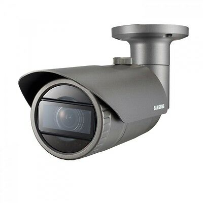 Samsung QNO-7080R 4MP HD Wisenet Network IP IR Weatherproof Bullet CCTV Camera