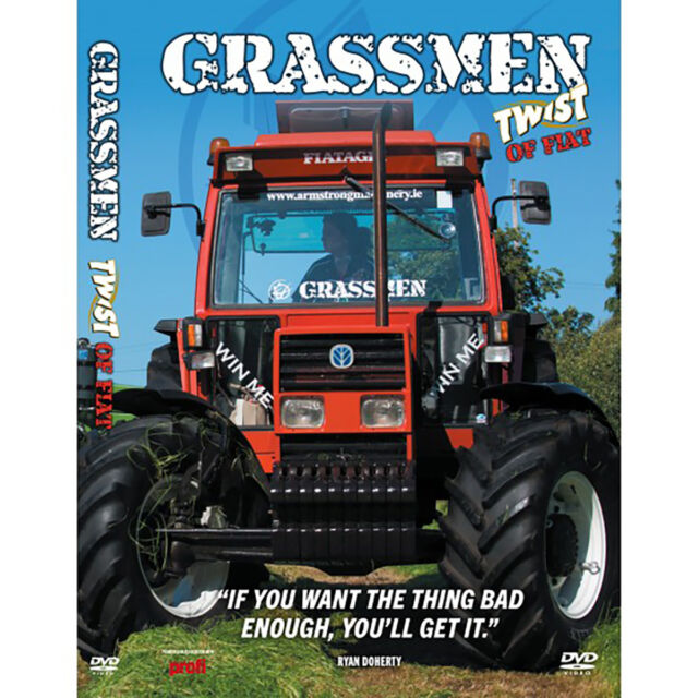 Grassmen Twist Of Fiat DVD New/Tractor/Harvesting/Farming/Agricultural/Machinery