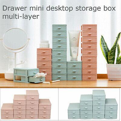 Multi Drawer Desktop Storage LayerMakeup Organizer Box Case Jewelry (Multi Storage Drawer)