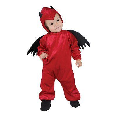 Infant Devil Costume (Little Devil Costume - Baby Toddler 12-18 Months Halloween Costume New!)