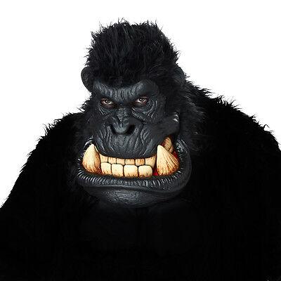 Adult Killa Gorilla Ape Animotion Costume Mask  (Gorilla Mask Costume)