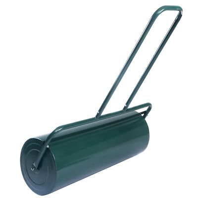 Water or Sand Filled Garden Metal Roller for Grass Lawn Ground 48L Heavy
