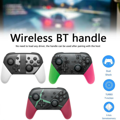 Pro Wireless Controller Game Gamepad Joystick Remote For Nintendo Switch / Lite Controllers & Attachments