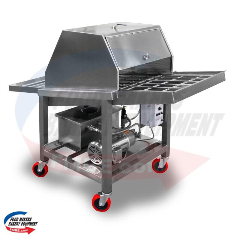 Pan Greaser, Slider Bed  - Food Makers Bakery Equipment SPG-SB
