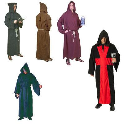 Robe Mönch Pater Mönchskostüm Priester Larp Kostüm Karneval - Priester Roben Kostüm