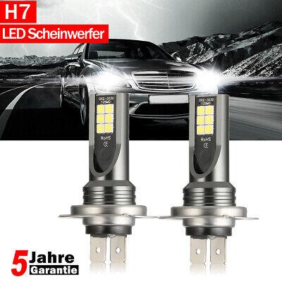 H7 LED SMD Scheinwerfer Nebelscheinwerfer 100W 2600LM 6000K Fahrlicht DRL Birne