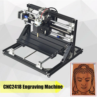 Cnc Router 2418 Mini Desktop Engraving Machine Wood Pcb Milling Engraver