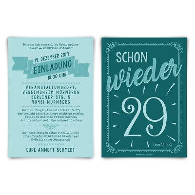 g individuelle Einladungskarte Einladungen - schon wieder 29 (Individuelle Einladungen)