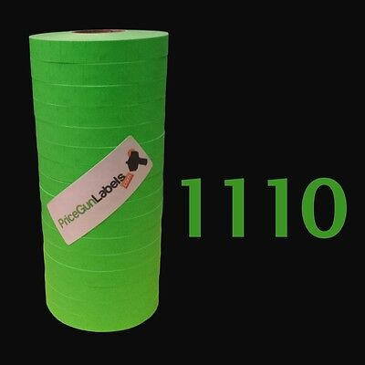 Labels For Monarch-paxar 1110 Price Gun Green 1 Ink Roller Free Shipping