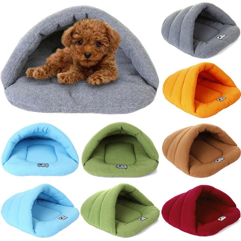 Hund Katze Nest Bed Bett Warme Hundehöhle Pet Winter Schlafsack Matten Hundebett