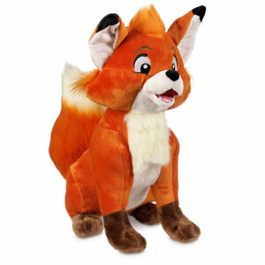 DISNEY STORE FOX AND THE HOUND TOD MED PLUSH 13 1/2