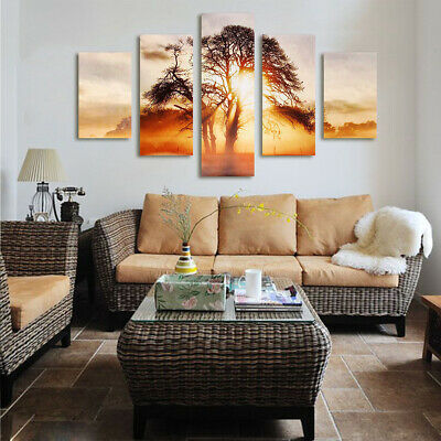 Modern Large Unframed Picture Abstract Canvas Wall Art Oil Painting Home Decor