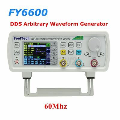 Fy6800 60mhz Signal Generator Counter Frequency Meter Digital Function Usa