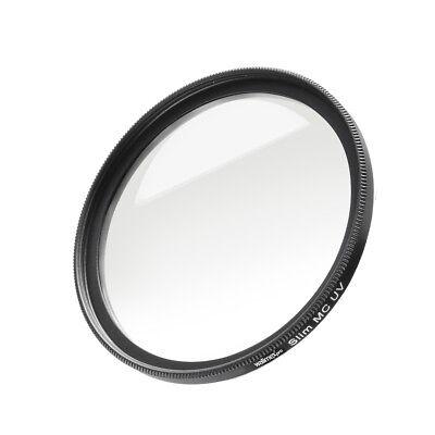 walimex pro Slim MC UV-Filter 77 mm, mehrschichtvergütet, Metallfassung Uv-filter