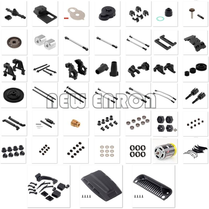 EX86100 RC Crawler RGT 1/10  Monster Truck Off Road Rock Cruiser Spare parts