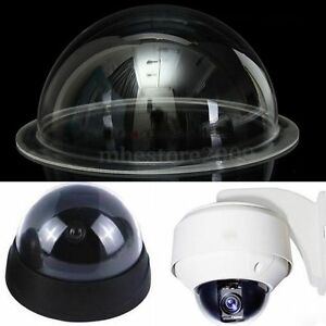 6 inch imperm able ext rieur int rieur protection cctv camera dome couverture ebay. Black Bedroom Furniture Sets. Home Design Ideas