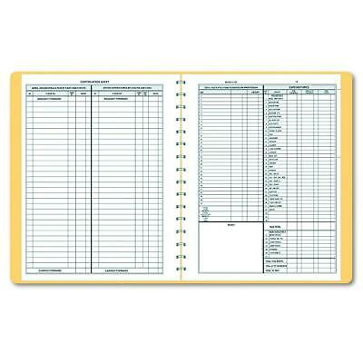 Dome 612 Bookkeeping Record Tan Vinyl Cover 128 Pages 8 12 X 11 Pages