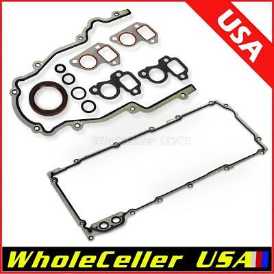 Timing Cover Oil Pan Gasket Fit Buick For GMC For Chevy 4.8L 5.3L 5.7L 6.0L 6.2L