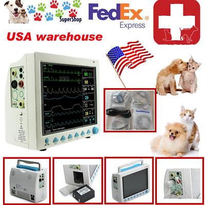 Vet Veterinary Pet Patient Monitor Multiparameter Icu Machine Big Screenfda Ce