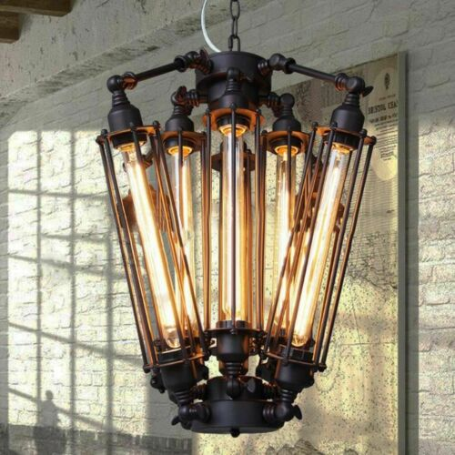Industrial Metal Steampunk Pendant Hanging Lamp Light Chande