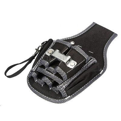 Black Electrician Waist Pocket Tool Belt Pouch Bag Screwdriver Utility Holder