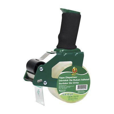 Duck Brand Foam Handle Tape Gun W 1 Roll Packaging Tape 1.88 Inch X 54.6 Yard