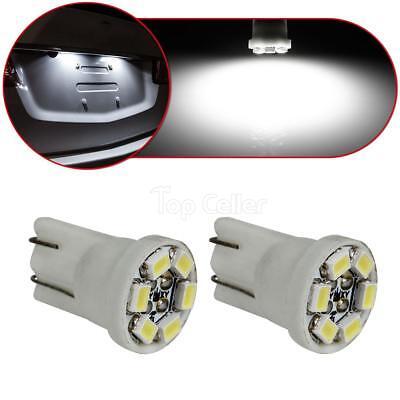 2x USA Stock White 1210 LED For License Plate Tag Light Lamp Bulb T10 168 194