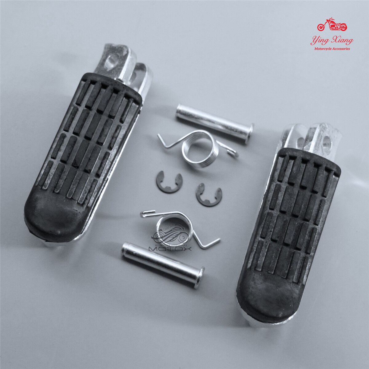COMPLETE FOOTREST PAIR OF FOR HONDA CBF500 2005 TO 2007