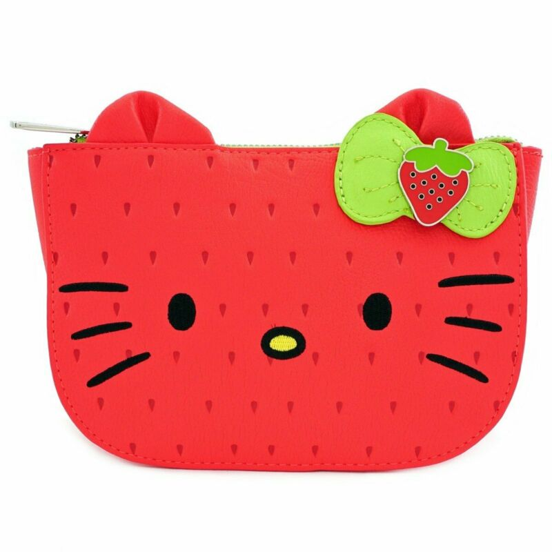 Loungefly Sanrio - Hello Kitty - Strawberry Fruit Fanny Pack Waist Bag