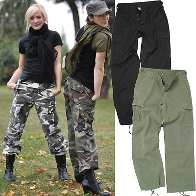us damen bdu hose tarn o uni xs xl tarnhose military cargohose camo feldhose ebay. Black Bedroom Furniture Sets. Home Design Ideas