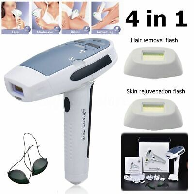 4 in1 Laser IPL Permanent Hair Removal Machine Face&Body Skin Painless Epilator for sale  Shipping to South Africa