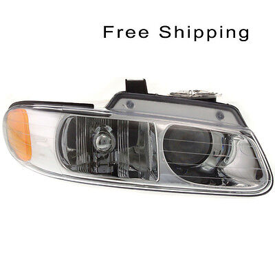 Halogen Head Lamp Assembly Passenger Side Fits Chrysler Town & Country CH2503114