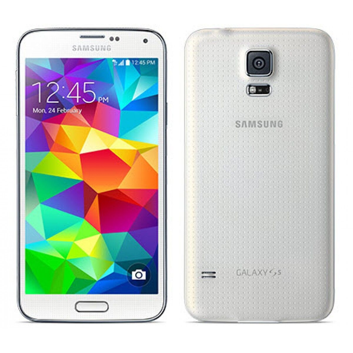 New In Box Samsung GALAXY S5 SM-G900V WHITE VERIZON Android PHONE