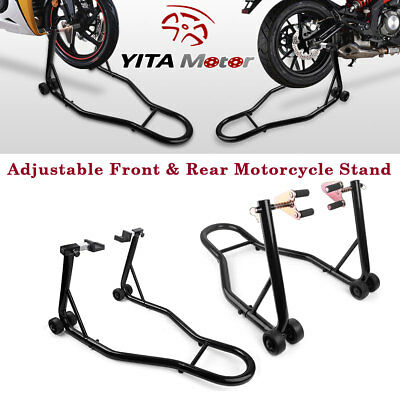 New Motorcycle Stand Front Rear Swingarm Lift Head Front Forklift Auto Bike Shop for sale  Bellevue