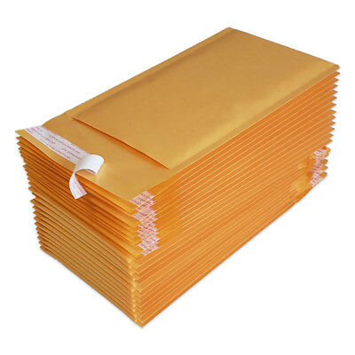 25 00 5x10 Kraft Bubble Mailers Padded Envelopes Bags