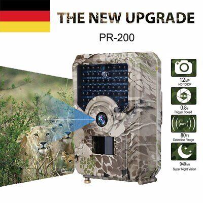 HD1080P Wasserdicht JagdKamera Wildtierkamera Nachtsicht Überwachungskameras