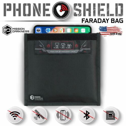 Mission Darkness Small Non-Window Faraday Bag for Phones