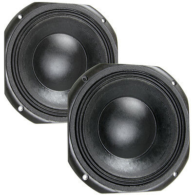 Pair Eminence Kappalite 3010LF-4 10 inch Neo Sub Woofer Bass Guitar 4ohm Speaker, used for sale  Shipping to India