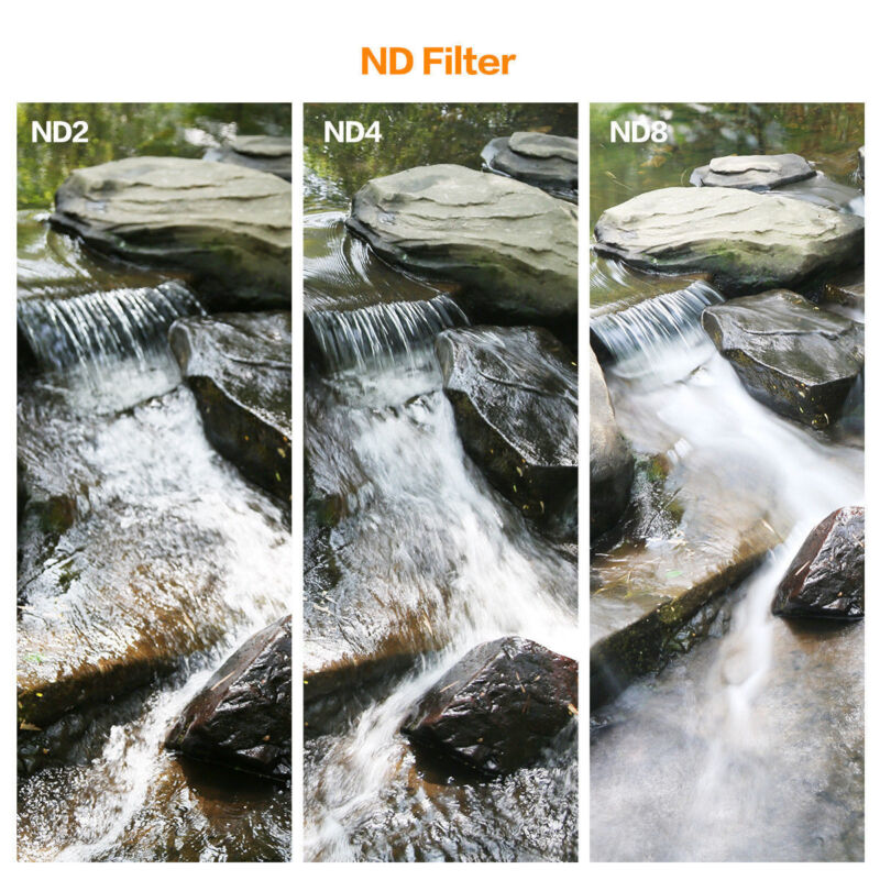 To enable slow shutter speeds to be used, to record movement in subjects such as waterfalls, clouds, or cars.