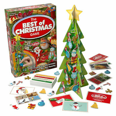 Drumond Park The Best of Christmas Family Board (Best Xmas Games 2019)
