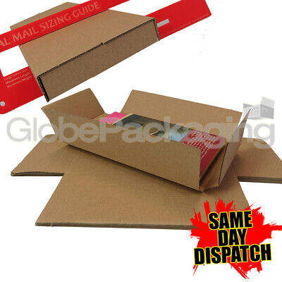 50 x DL SIZE ROYAL MAIL LARGE LETTER PIP SHIPPING POSTAL POSTAGE MAILING BOXES
