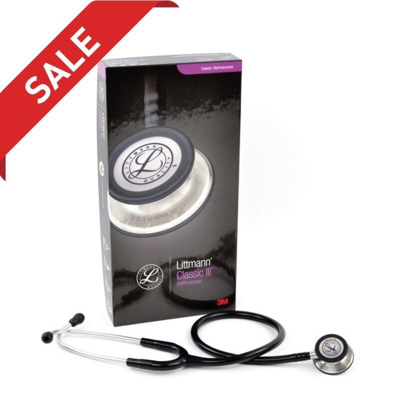 3M Littmann Stethoscope, Black Tube, 27 inch, 5620