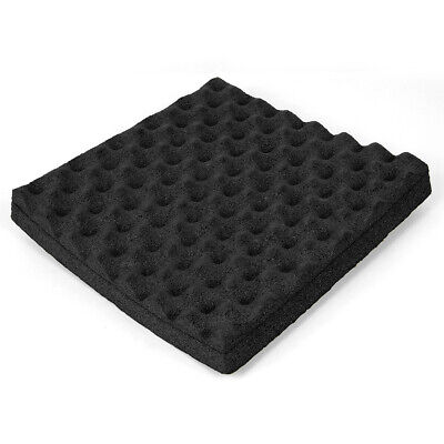 "Studio Soundproofing Foam Wall Acoustic Panels Padding Tiles 2"" x 12"" x 12"""