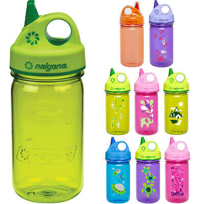 Nalgene Tritan Grip 'n Gulp 12 oz. Water Bottle