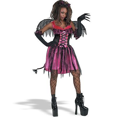 Purrrfect Fairy Pixie Kitty Cat Gothic Halloween Adult Costume - Halloween Costumes Kitty Cat