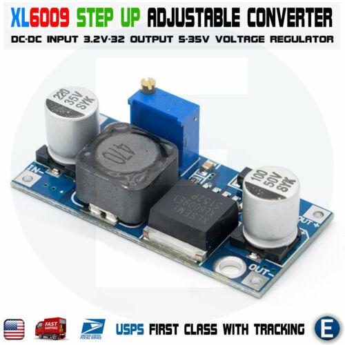XL6009 Boost Buck Module DC-DC adjustable step up Voltage Converter Power Supply