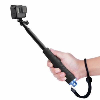 Luxebell Bastone Selfie Monopiede Telescopico Allungabile per Gopro Hero, Nero